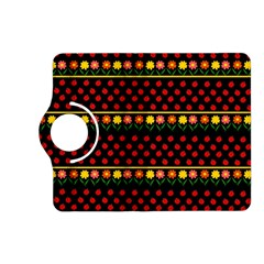 Ladybugs And Flowers Kindle Fire Hd (2013) Flip 360 Case by Valentinaart