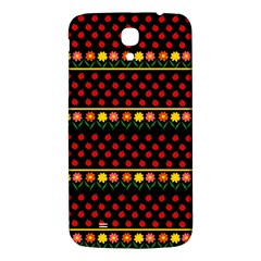 Ladybugs And Flowers Samsung Galaxy Mega I9200 Hardshell Back Case by Valentinaart