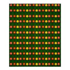 Flowers Shower Curtain 60  X 72  (medium)  by Valentinaart