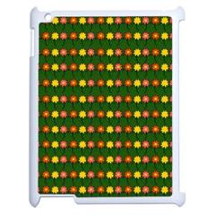 Flowers Apple Ipad 2 Case (white) by Valentinaart