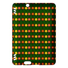 Flowers Kindle Fire Hdx Hardshell Case by Valentinaart