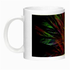 Fractal In Many Different Colours Night Luminous Mugs by Simbadda