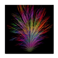 Fractal In Many Different Colours Face Towel by Simbadda