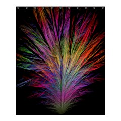 Fractal In Many Different Colours Shower Curtain 60  X 72  (medium)  by Simbadda