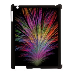 Fractal In Many Different Colours Apple Ipad 3/4 Case (black) by Simbadda