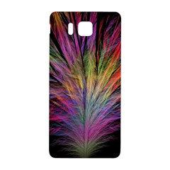 Fractal In Many Different Colours Samsung Galaxy Alpha Hardshell Back Case by Simbadda