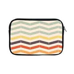 Abstract Vintage Lines Apple Ipad Mini Zipper Cases by Simbadda