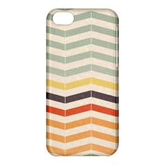 Abstract Vintage Lines Apple Iphone 5c Hardshell Case by Simbadda