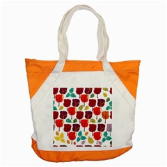 Colorful Trees Background Pattern Accent Tote Bag by Simbadda