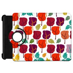 Colorful Trees Background Pattern Kindle Fire Hd 7  by Simbadda