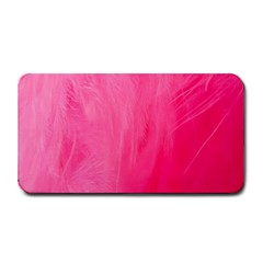 Very Pink Feather Medium Bar Mats by Simbadda