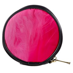 Very Pink Feather Mini Makeup Bags by Simbadda
