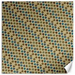 Abstract Seamless Pattern Canvas 12  X 12   by Simbadda