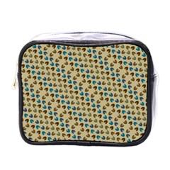 Abstract Seamless Pattern Mini Toiletries Bags by Simbadda