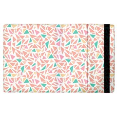 Geometric Abstract Triangles Background Apple Ipad 2 Flip Case by Simbadda