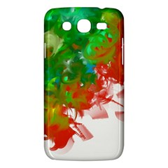 Digitally Painted Messy Paint Background Texture Samsung Galaxy Mega 5 8 I9152 Hardshell Case  by Simbadda