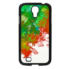 Digitally Painted Messy Paint Background Texture Samsung Galaxy S4 I9500/ I9505 Case (black) by Simbadda