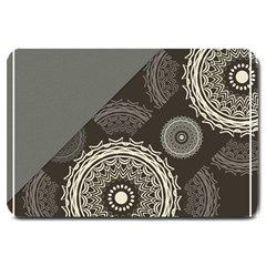 Abstract Mandala Background Pattern Large Doormat