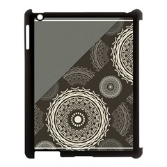 Abstract Mandala Background Pattern Apple Ipad 3/4 Case (black) by Simbadda