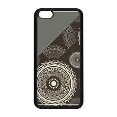 Abstract Mandala Background Pattern Apple Iphone 5c Seamless Case (black) by Simbadda