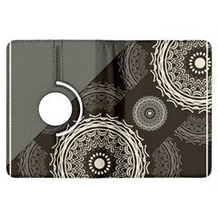 Abstract Mandala Background Pattern Kindle Fire Hdx Flip 360 Case by Simbadda