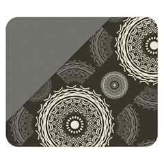 Abstract Mandala Background Pattern Double Sided Flano Blanket (small)  by Simbadda