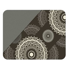 Abstract Mandala Background Pattern Double Sided Flano Blanket (large)  by Simbadda