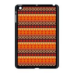 Abstract Lines Seamless Pattern Apple Ipad Mini Case (black) by Simbadda
