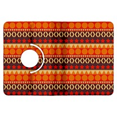 Abstract Lines Seamless Pattern Kindle Fire Hdx Flip 360 Case by Simbadda