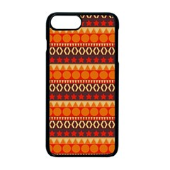 Abstract Lines Seamless Pattern Apple Iphone 7 Plus Seamless Case (black)