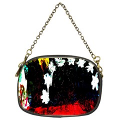 Grunge Abstract In Dark Chain Purses (two Sides)