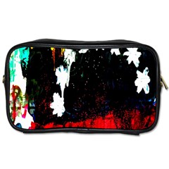 Grunge Abstract In Dark Toiletries Bags by Simbadda