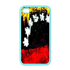 Grunge Abstract In Dark Apple Iphone 4 Case (color) by Simbadda