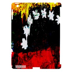 Grunge Abstract In Dark Apple Ipad 3/4 Hardshell Case (compatible With Smart Cover) by Simbadda
