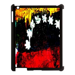 Grunge Abstract In Dark Apple Ipad 3/4 Case (black) by Simbadda