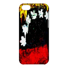 Grunge Abstract In Dark Apple Iphone 5c Hardshell Case by Simbadda