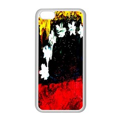 Grunge Abstract In Dark Apple Iphone 5c Seamless Case (white) by Simbadda