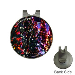 Lit Christmas Trees Prelit Creating A Colorful Pattern Hat Clips With Golf Markers by Simbadda