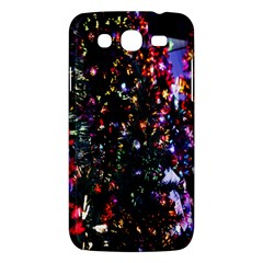 Lit Christmas Trees Prelit Creating A Colorful Pattern Samsung Galaxy Mega 5 8 I9152 Hardshell Case  by Simbadda