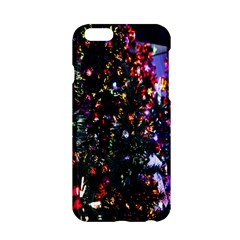 Lit Christmas Trees Prelit Creating A Colorful Pattern Apple Iphone 6/6s Hardshell Case by Simbadda