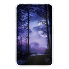 Moonlit A Forest At Night With A Full Moon Memory Card Reader by Simbadda