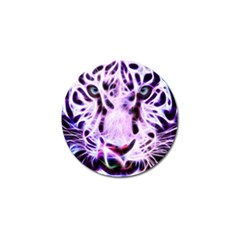 Fractal Wire White Tiger Golf Ball Marker (10 Pack) by Simbadda