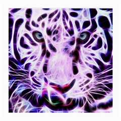 Fractal Wire White Tiger Medium Glasses Cloth