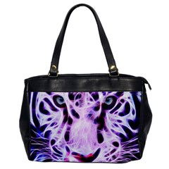 Fractal Wire White Tiger Office Handbags by Simbadda