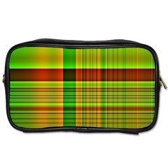 Multicoloured Background Pattern Toiletries Bags by Simbadda