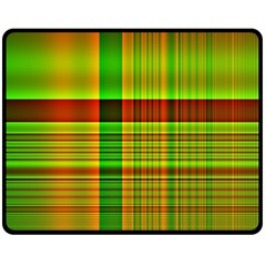 Multicoloured Background Pattern Fleece Blanket (medium)  by Simbadda