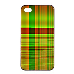 Multicoloured Background Pattern Apple Iphone 4/4s Seamless Case (black) by Simbadda