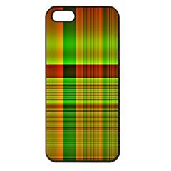 Multicoloured Background Pattern Apple Iphone 5 Seamless Case (black) by Simbadda
