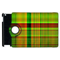 Multicoloured Background Pattern Apple Ipad 2 Flip 360 Case by Simbadda