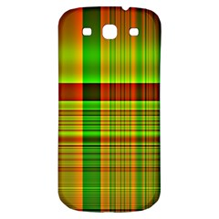 Multicoloured Background Pattern Samsung Galaxy S3 S Iii Classic Hardshell Back Case by Simbadda